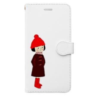ひぃちゃん Book-style smartphone case