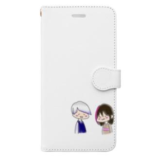 毒ぶな公式グッズ Book-style smartphone case
