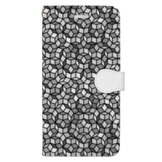 ペンローズモザイク Book-style smartphone case
