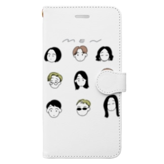 ME~N Book-style smartphone case