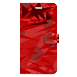 《K@eDe》🇬🇺のRedChaos Book-style smartphone case