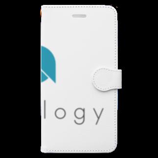 OWLCOIN ショップのOntology オントロジー Book style smartphone case