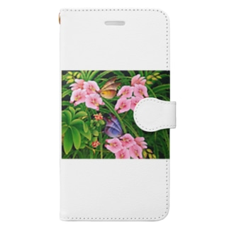 Orchid Garden  Book-style smartphone case