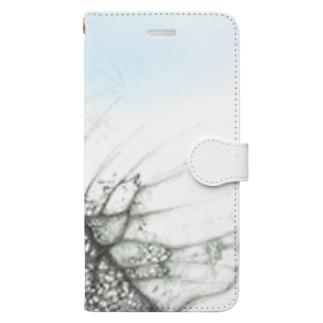 蝶 Book-style smartphone case