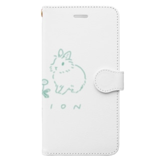 LION Book style smartphone case