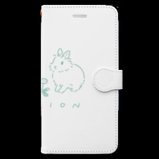 SCHINAKO'SのLION Book style smartphone case