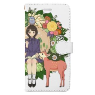 みどり Book style smartphone case