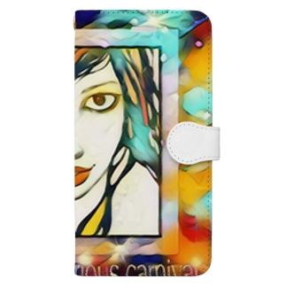Golem mysterious carnival~幻淵 version Book-style smartphone case