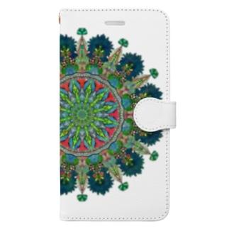 カモミール Book-style smartphone case