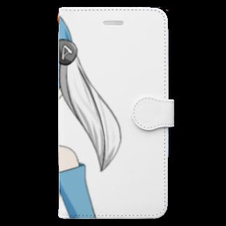 水無月あおいグッズの水無月あおいグッズ Book style smartphone case