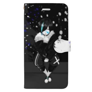 阿弥陀さんスマホケース Book-style smartphone case