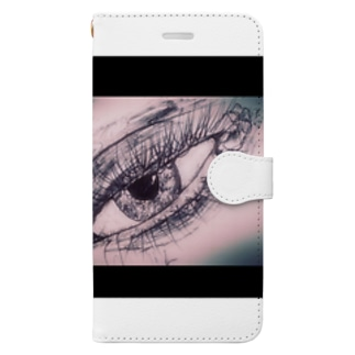 少女のままで死ぬ Book-style smartphone case