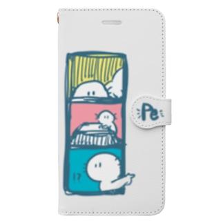 ペーツィーの日常 Book style smartphone case