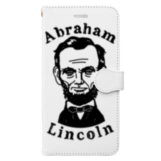 リンカーン Book style smartphone case