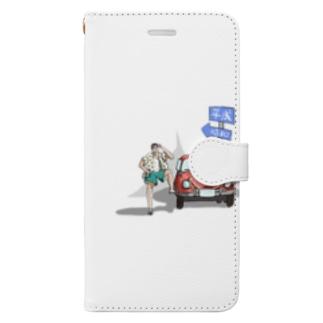 タイムトラベラー Book-style smartphone case