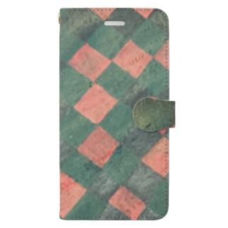モヨウ2 Book style smartphone case