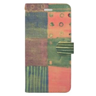 モヨウ3 Book style smartphone case