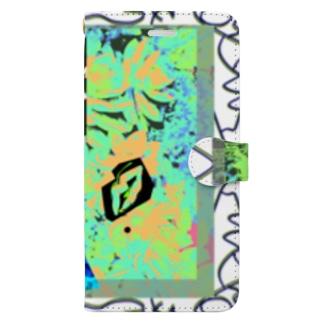 NEOnPINK_K_ Book style smartphone case