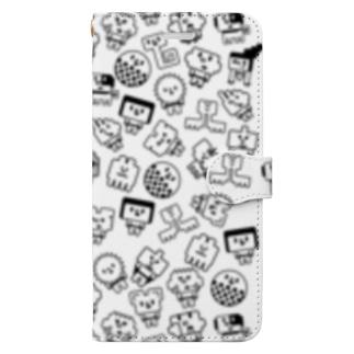 いっぱいウチュウクン Book-style smartphone case