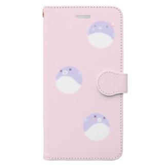 可愛いふぐ Book-style smartphone case