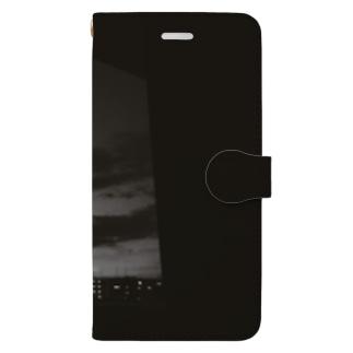 モノクロの夜 Book-style smartphone case