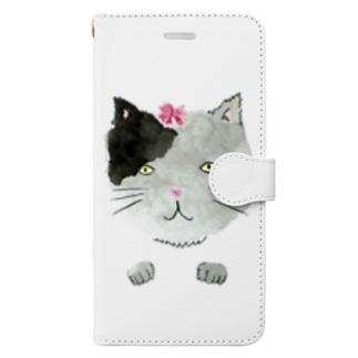 neko&spring Book style smartphone case