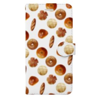 いろいろパン Book-style smartphone case