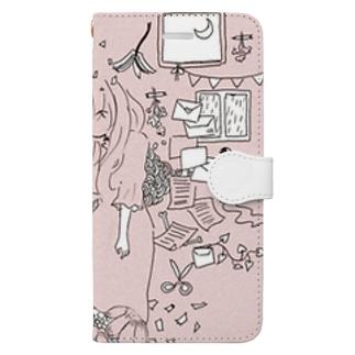 春の花束 Book-style smartphone case