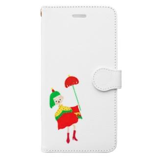 アンブレラ女子 Book-style smartphone case