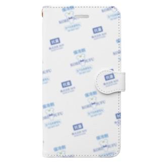 保冷剤_手帳型 Book-style smartphone case
