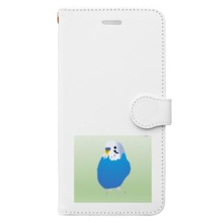エクセルあおくん Book-style smartphone case