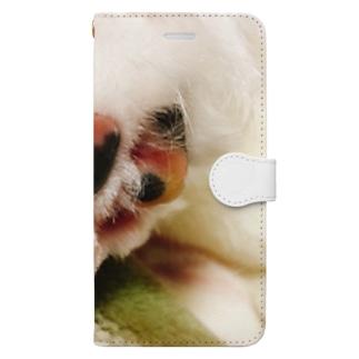 ルチアーノ三世の肉球 Book style smartphone case