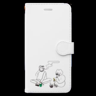 KIRIKO NAGUMOのBOYS Book-style smartphone case
