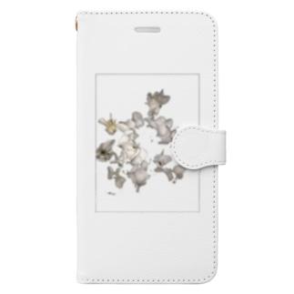 砂綿ぼこり Book-style smartphone case