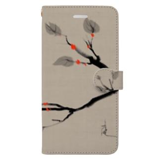 鳥 水墨画 Bird Ink Painting Book-style smartphone case