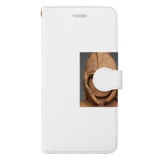 武人埴輪 Book-style smartphone case