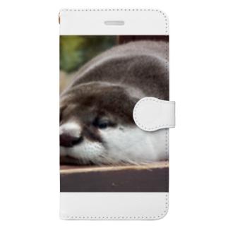 ユーラシアカワウソ Book-style smartphone case