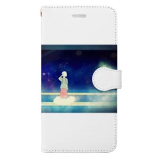 夜空列車「夢旅線路」 Book-style smartphone case