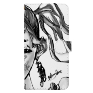 Girl With Pierced Earrings Book-style smartphone case