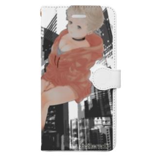 karafuru-buri-fuのD Book-style smartphone case