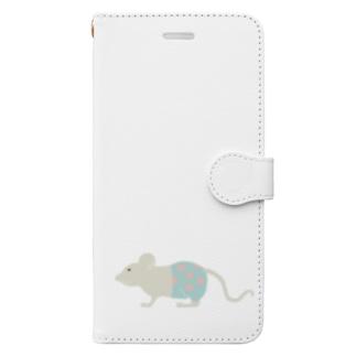 水玉パンツはいてるっチュウの Book style smartphone case