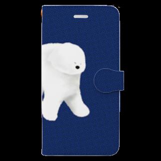 Iwabuchi Mamiの不思議なワンちゃん Book style smartphone case