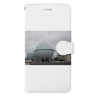 ガスホルダー様 Book-style smartphone case