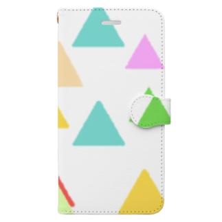 さんかく Book style smartphone case