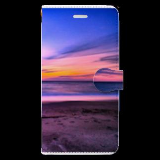 YukapasaのKAMAYA BEACH Book-style smartphone case