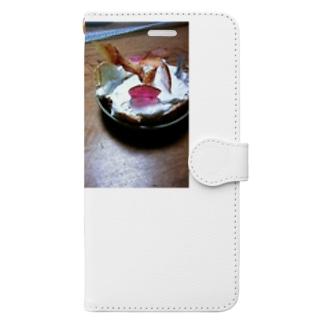 あめちゃんケーキ Book-style smartphone case