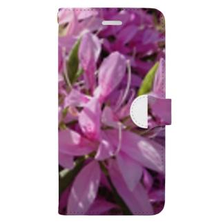つつじ Book-style smartphone case