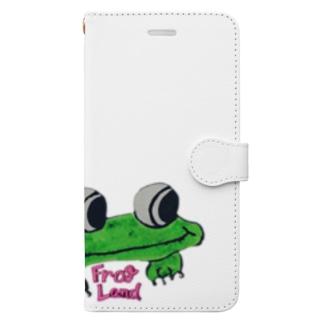 FrogLand Book-style smartphone case