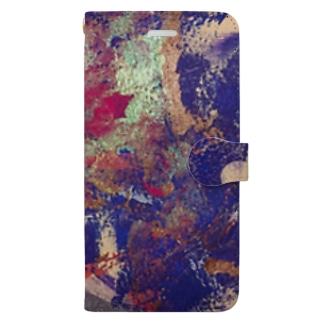 苺色の激情 Book-style smartphone case