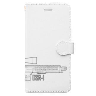 KING's cafeのスナイパーライフル Book-style smartphone case